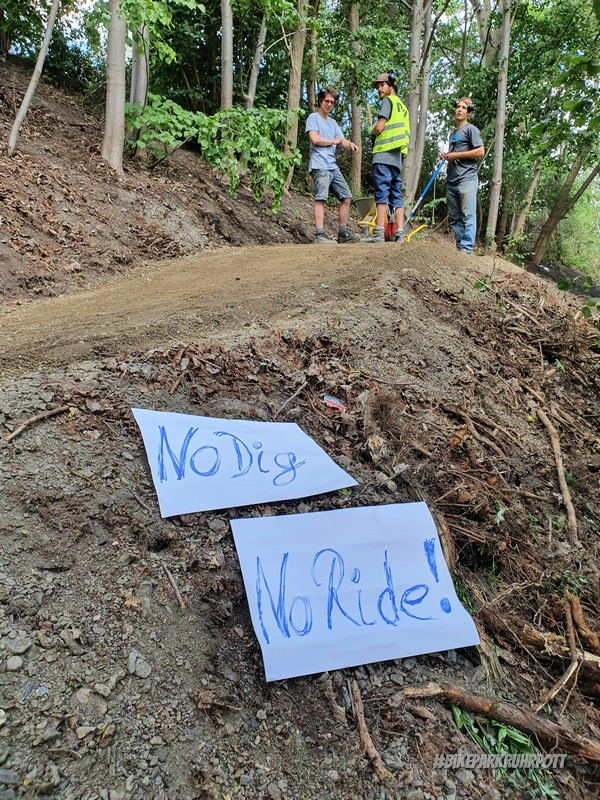 No Dig- No Ride!