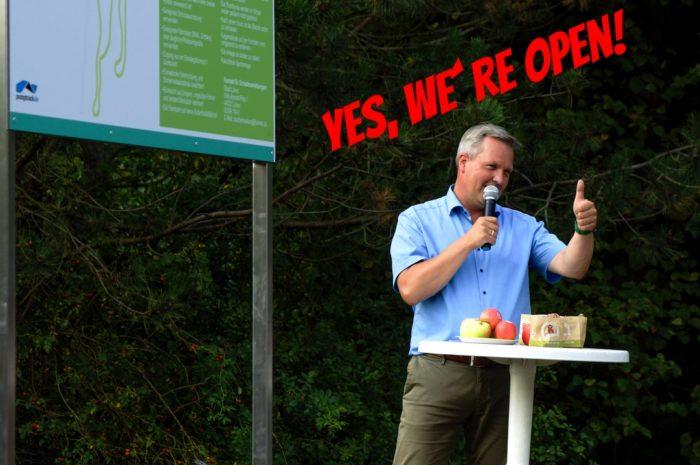 Bikepark Lünen Viktoria 3/4 ist offiziell eröffnet